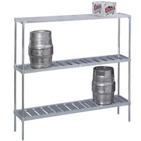 Channel KAR93 10 Keg Rack - 93 inch x 17 inch x 68 inch