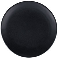 10 Strawberry Street RPPLE-BLKBB Ripple 6 1/4 inch Black Bread and Butter Stoneware Plate - 36/Case
