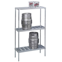 Channel KAR42 4 Keg Rack - 42 inch x 17 inch x 68 inch