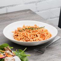 10 Strawberry Street RPPLE-WHTPSTA Matte Wave 9 3/4 inch White Pasta Stoneware Plate - 18/Case