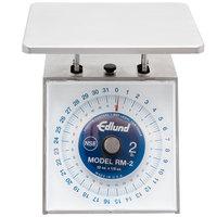 Edlund RM-2 Four Star 32 oz. Portion Scale with 7 inch x 8 3/4 inch Platform