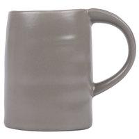 10 Strawberry Street RPPLE-GREYMUG Ripple 12 oz. Gray Stoneware Mug - 24/Case