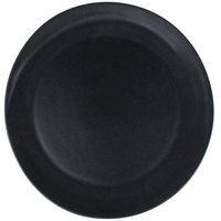 10 Strawberry Street RPPLE-BLKCHRGR Ripple 12 3/4 inch Black Charger Stoneware Plate - 12/Case