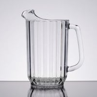 Cambro P320CW135 Camwear 32 oz. Clear Customizable Plastic Pitcher