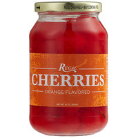 Regal 16 oz. Orange Maraschino Cherries with Stems