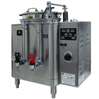 Grindmaster Cecilware 74110E Single Midline 10 Gallon Heat Exchange Coffee Urn - 120/208/240V, 3 Phase, 15/15 kW