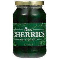Regal 16 oz. Green Maraschino Cherries with Stems
