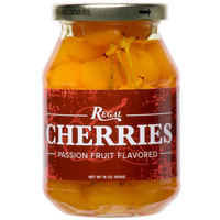 Regal 16 oz. Passion Fruit Maraschino Cherries with Stems