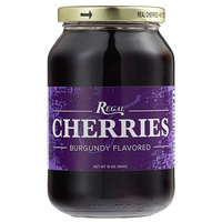 Regal 16 oz. Purple Maraschino Cherries with Stems