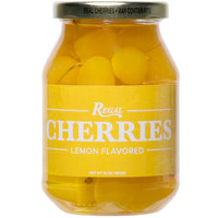 Regal 16 oz. Yellow Maraschino Cherries with Stems
