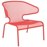 BFM Seating DV260GE Maze Grenadine Steel Lounge Chair
