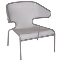 BFM Seating DV260TS Maze Titanium Silver Steel Lounge Chair