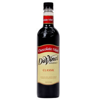DaVinci Gourmet 750 mL Chocolate Mint Classic Coffee Flavoring Syrup