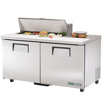 True TSSU-60-10-ADA-HC 2 Door ADA Height Refrigerated Sandwich Prep Table
