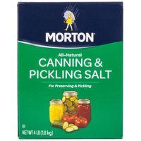 Morton 4 lb. Canning and Pickling Salt
