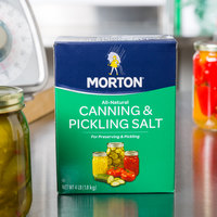 Morton 4 lb. Canning and Pickling Salt