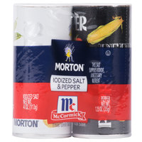 Morton Disposable Salt and Pepper Shaker Set