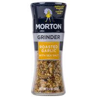 Morton 1.5 oz. Roasted Garlic with Sea Salt Glass Grinder   - 6/Case