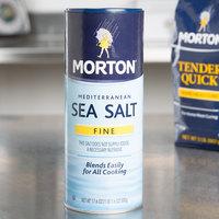 Morton 17.6 oz. Mediterranean Fine Sea Salt - 12/Case