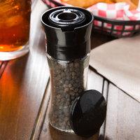 Morton 1.24 oz. Black Peppercorn Glass Mill   - 6/Case