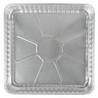 D&W Fine Pack 15800 9 inch Aluminum Foil Square Pan   - 25/Pack