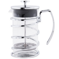 World Tableware 73590 17 oz. / 2 Cup Stainless Steel French Press