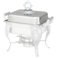 Vollrath 46877 5.8 Qt. Royal Crest Chafer Dome Cover with Handle