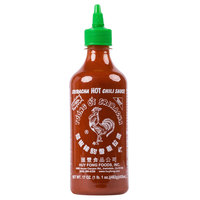 Huy Fong 17 oz. Sriracha Hot Chili Sauce   - 12/Case