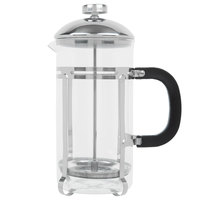 Choice 33 oz. Glass / Stainless Steel French Coffee Press