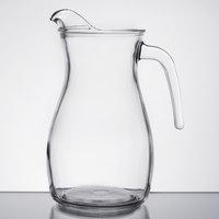 Libbey 13112221 50.75 oz. Curvy Glass Pitcher