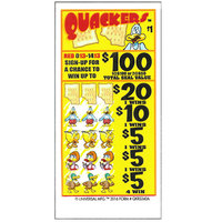 Quackers 5 Window Pull-Tab Tickets - 480 Tickets Per Deal - $317 Total Payout