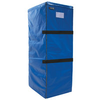 Cres Cor 5234-083 Blue Vinyl Full Size Insulated Bun / Sheet Pan Rack Cover