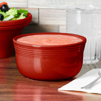 Homer Laughlin 723326 Fiesta Scarlet 24 oz. Gusto Bowl - 6/Case