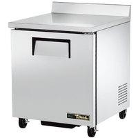 True TWT-27F-ADA-HC 27 inch Single Door ADA Compliant Worktop Freezer