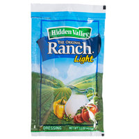 Hidden Valley 1.5 oz. Light Ranch Dressing Packet - 84/Case