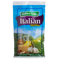 Hidden Valley 1.5 oz. Fat Free Italian Dressing Packet - 84/Case