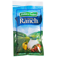 Hidden Valley 1.5 oz. Original Ranch Dressing Packet - 84/Case