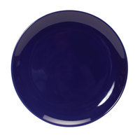 Tuxton BCA-0904 TuxCare Healthcare 9 inch Cobalt China Plate - 12/Case