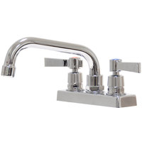 Advance Tabco K-51 Deck Mount Faucet with 4 inch Centers and 6 inch Swing Nozzle