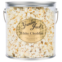 Grandma Jack's 1 Gallon Gourmet White Cheddar Popcorn