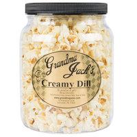 Grandma Jack's 64 oz. Gourmet Creamy Dill Popcorn
