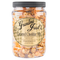 Grandma Jack's 32 oz. Gourmet Caramel and Cheddar Cheese Mix Popcorn