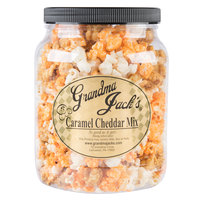 Grandma Jack's 64 oz. Gourmet Caramel and Cheddar Cheese Mix Popcorn