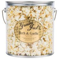 Grandma Jack's 1 Gallon Gourmet Herb and Garlic Popcorn