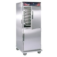 Cres Cor H-138-S-1834D Insulated Stainless Steel Holding Cabinet Solid Dutch Doors - 120V