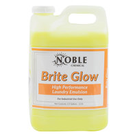 Noble Chemical 2.5 Gallon Brite Glow High Performance Laundry Emulsion   - 2/Case