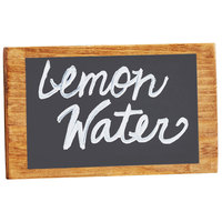 Cal-Mil 3616-99 Beverage Dispenser Chalkboard Sign - 5 inch x 3 inch