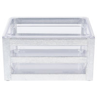 Cal-Mil 3594-10 Galvanized Metal Ice Housing - 14 inch x 10 inch x 6 inch