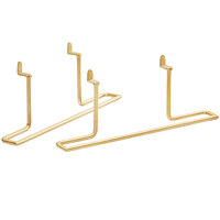 Cal-Mil 3723-46 Brass Shelf Bracket - 20 inch x 13 inch