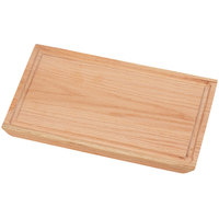 Cal-Mil 3496-712-21 Oak Serving Board - 12 inch x 7 inch x 3/4 inch